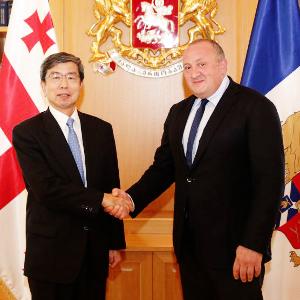ADB President visits Georgia, reaffirms commitment to expand partnership