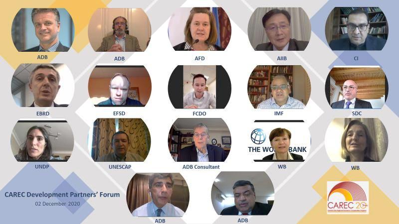 First CAREC Development Partners' Forum participants
