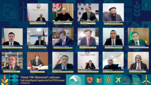 Virtual 19th CAREC Ministerial Conference