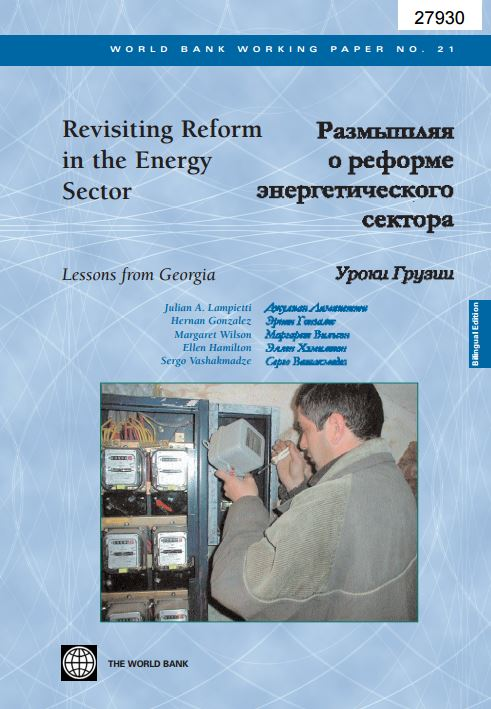 Revisiting Reform in the Energy Sector : Lessons from Georgia