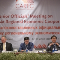CAREC Senior Officials' Meeting (June 2015)