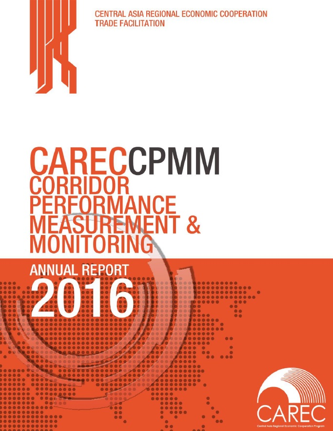 CAREC Corridor Performance Measurement and Monitoring Annual Report 2016