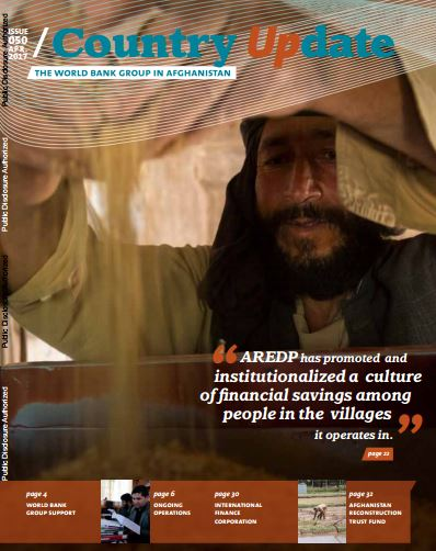 The World Bank Group in Afghanistan: Country Update
