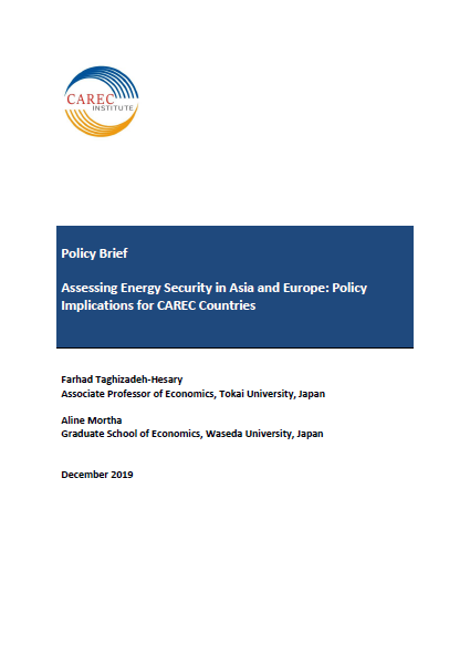 Assessing Energy Security in Asia and Europe: Policy Implications for CAREC Countries