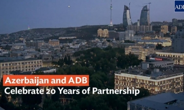 Azerbaijan and ADB Celebrate 20 Years of Partnership