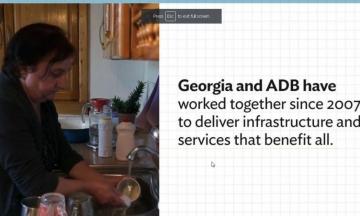 ADB Water Assistance Works: Just Ask Georgian Housewife Tamara Makhviladze