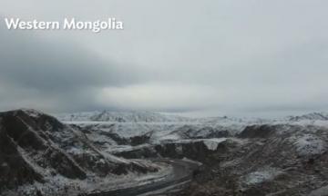 Development Follows the Road in Mongolia's Western Region