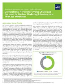 Dysfunctional Horticulture Value Chains and the Need for Modern Marketing Infrastructure: The Case of Pakistan