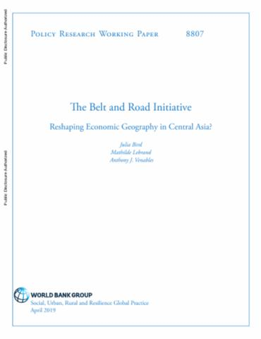 The Belt and Road Initiative: Reshaping Economic Geography in Central Asia?
