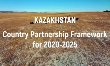 Kazakhstan: Country Partnership Framework for 2020-2025
