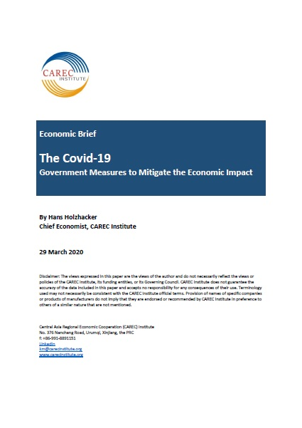 The Covid-19, Government Measures to Mitigate the Economic Impact