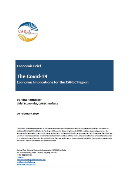 The Covid-19: Economic Implications for the CAREC Region