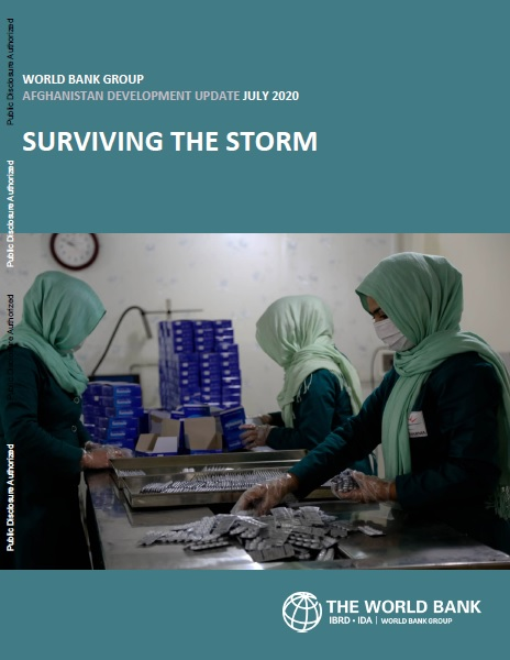 Afghanistan Development Update : Surviving the Storm