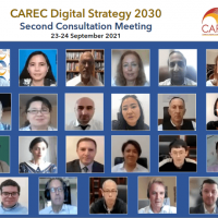2nd Virtual Consultation Meeting with Member Countries on CAREC Digital Strategy 2030