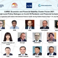 CAREC Economic and Financial Stability Cluster 2021