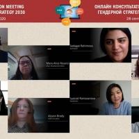 Country Consultation on Gender Strategy (Azerbaijan, Georgia, Kazakhstan, Uzbekistan)