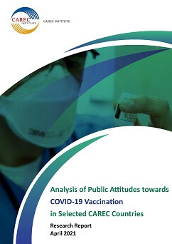 Analysis of Public Attitudes towards COVID-19 Vaccination in Selected CAREC Countries