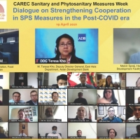 CAREC Sanitary and Phytosanitary (SPS) Measures Week – Dialogue on Strengthening Cooperation in SPS Measures in the Post-COVID Era