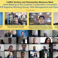 CAREC Sanitary and Phytosanitary (SPS) Measures Week – Joint Meeting of the CAREC Customs Cooperation Committee and SPS Regional Working Group: Facilitating Safe Trade – Risk Management and Digitalization