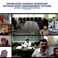 Knowledge Sharing Workshop on Road Asset Management Systems (Georgia, Pakistan and Tajikistan)