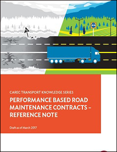 Performance-Based Road Maintenance Contracts—Reference Note (Draft)