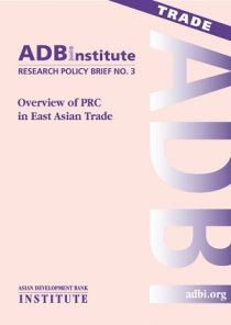 Overview of PRC in East Asian Trade