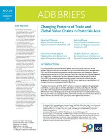 Changing Patterns of Trade and Global Value Chains in Postcrisis Asia