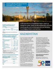 Asian Development Bank and Kazakhstan: Fact Sheet