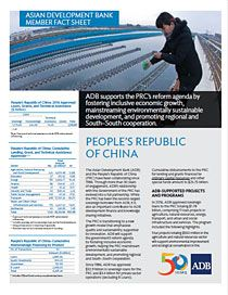 Asian Development Bank and the People's Republic of China: Fact Sheet