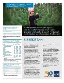 Asian Development Bank and Uzbekistan: Fact Sheet